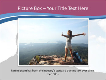 Silhouette of team PowerPoint Template - Slide 16