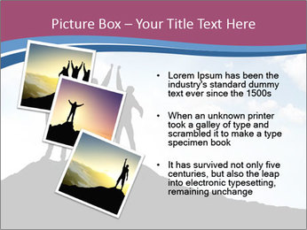 Silhouette of team PowerPoint Template - Slide 17