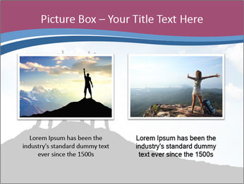 Silhouette of team PowerPoint Template - Slide 18