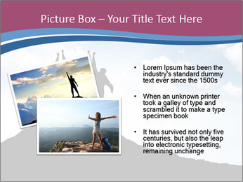 Silhouette of team PowerPoint Template - Slide 20