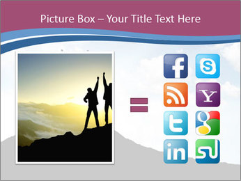 Silhouette of team PowerPoint Template - Slide 21