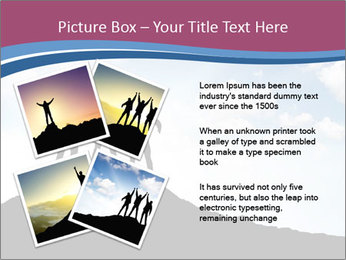 Silhouette of team PowerPoint Template - Slide 23