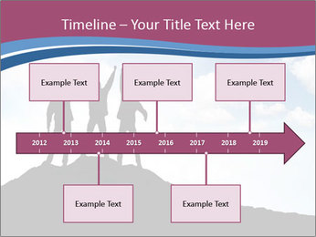 Silhouette of team PowerPoint Template - Slide 28