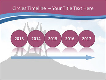 Silhouette of team PowerPoint Template - Slide 29
