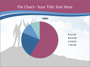 Silhouette of team PowerPoint Template - Slide 36