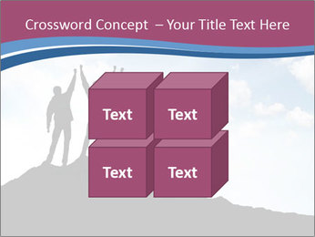 Silhouette of team PowerPoint Template - Slide 39
