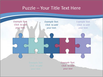Silhouette of team PowerPoint Templates - Slide 41