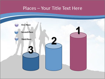 Silhouette of team PowerPoint Template - Slide 65