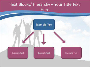 Silhouette of team PowerPoint Templates - Slide 69