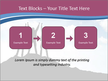 Silhouette of team PowerPoint Templates - Slide 71