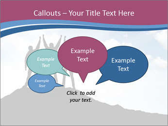 Silhouette of team PowerPoint Templates - Slide 73