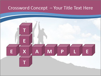 Silhouette of team PowerPoint Template - Slide 82