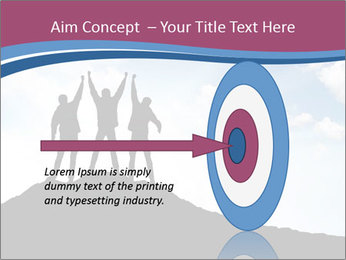 Silhouette of team PowerPoint Template - Slide 83