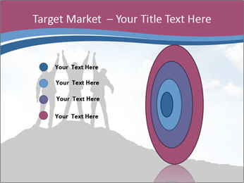Silhouette of team PowerPoint Templates - Slide 84