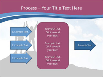 Silhouette of team PowerPoint Template - Slide 85