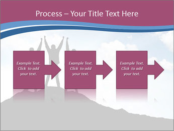 Silhouette of team PowerPoint Template - Slide 88