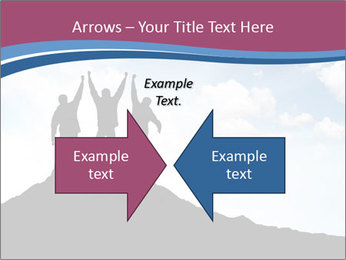 Silhouette of team PowerPoint Templates - Slide 90