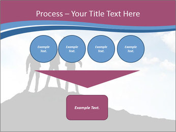 Silhouette of team PowerPoint Template - Slide 93