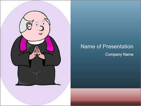 Comic figure PowerPoint Template