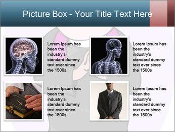 Comic figure PowerPoint Template - Slide 14