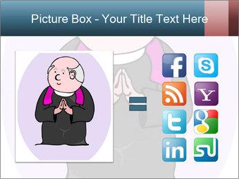 Comic figure PowerPoint Template - Slide 21