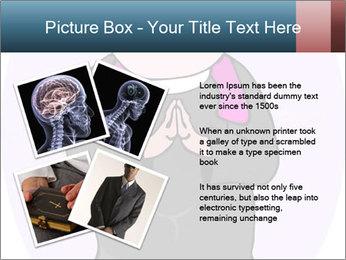 Comic figure PowerPoint Template - Slide 23