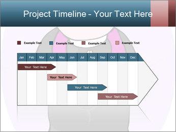 Comic figure PowerPoint Template - Slide 25