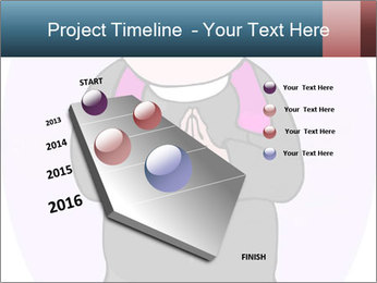 Comic figure PowerPoint Template - Slide 26
