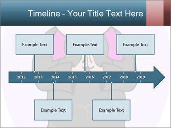 Comic figure PowerPoint Template - Slide 28