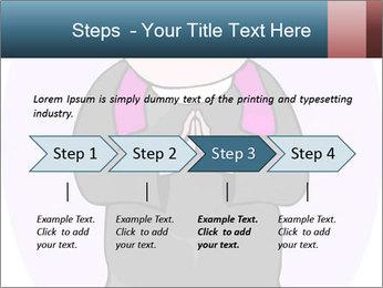 Comic figure PowerPoint Template - Slide 4