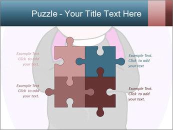 Comic figure PowerPoint Template - Slide 43