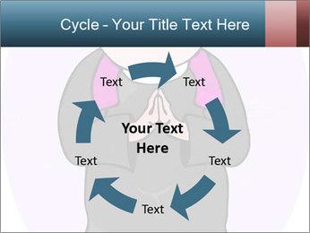 Comic figure PowerPoint Template - Slide 62