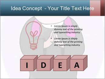 Comic figure PowerPoint Template - Slide 80