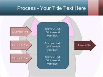 Comic figure PowerPoint Template - Slide 85