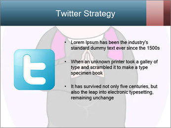 Comic figure PowerPoint Template - Slide 9
