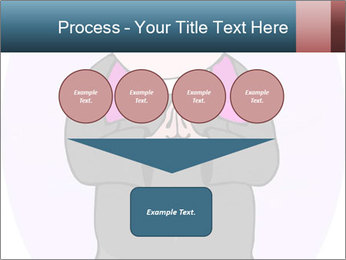 Comic figure PowerPoint Template - Slide 93