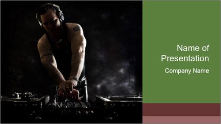 DJ Mixing PowerPoint Template