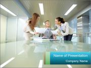 Inspirated boss PowerPoint Templates