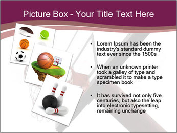 Basketball board PowerPoint Templates - Slide 17