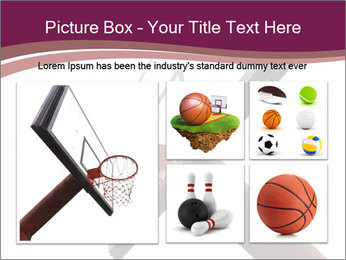 Basketball board PowerPoint Templates - Slide 19