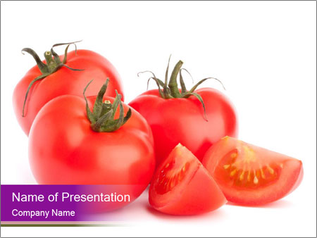 Tomato vegetables PowerPoint Template