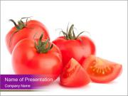 Tomato vegetables PowerPoint Templates