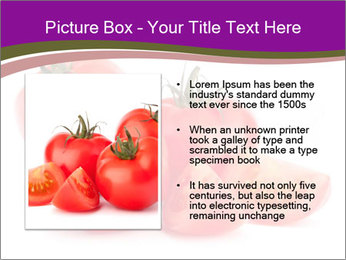 Tomato vegetables PowerPoint Template - Slide 13