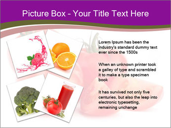 Tomato vegetables PowerPoint Template - Slide 23