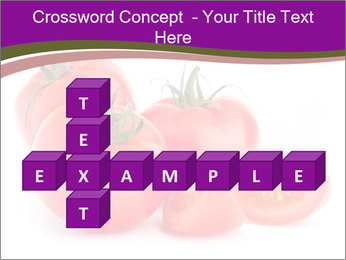 Tomato vegetables PowerPoint Template - Slide 82