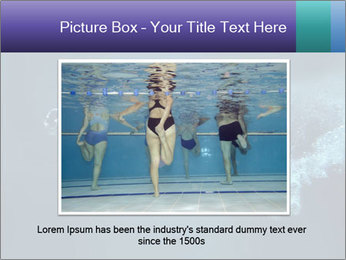 Professional swimmer PowerPoint Template - Slide 16