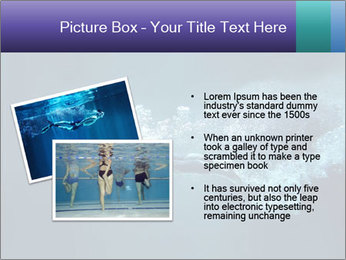 Professional swimmer PowerPoint Template - Slide 20