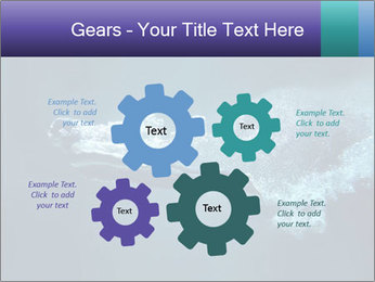 Professional swimmer PowerPoint Templates - Slide 47
