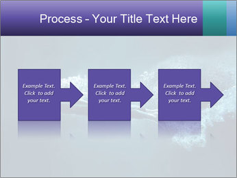 Professional swimmer PowerPoint Template - Slide 88