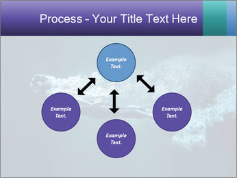 Professional swimmer PowerPoint Template - Slide 91